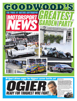 Motorsport News 18th July 2018