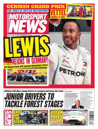 Motorsport News 25th July 2018