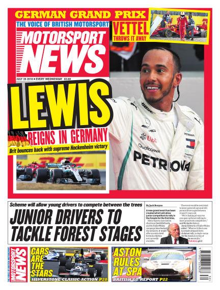 Motorsport News July 25, 2018 00:00