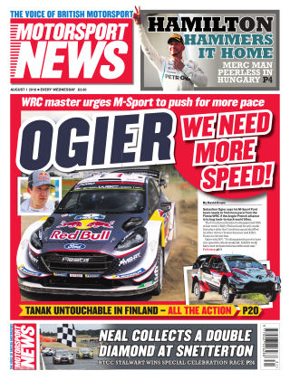 Motorsport News 1st August 2018