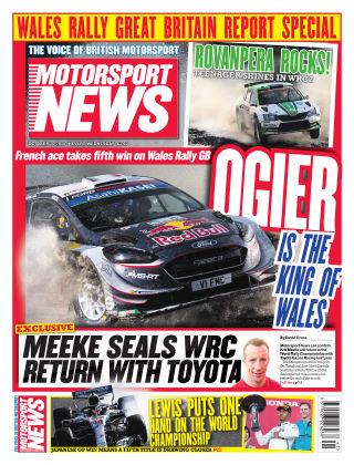 Motorsport News 10th October 2018