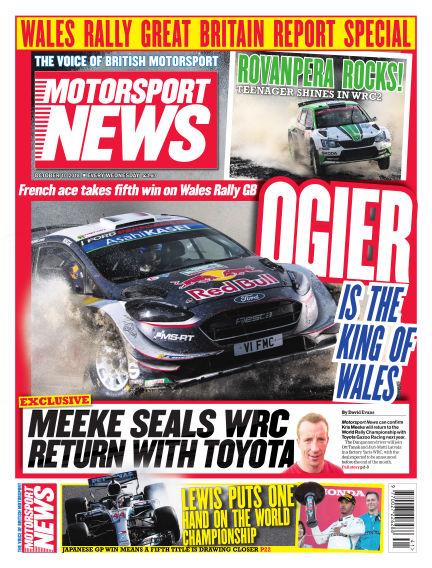Motorsport News October 10, 2018 00:00