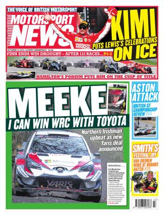 Motorsport News 24th October 2018