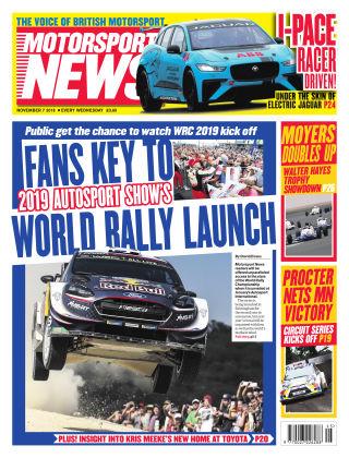 Motorsport News 7th November 2018