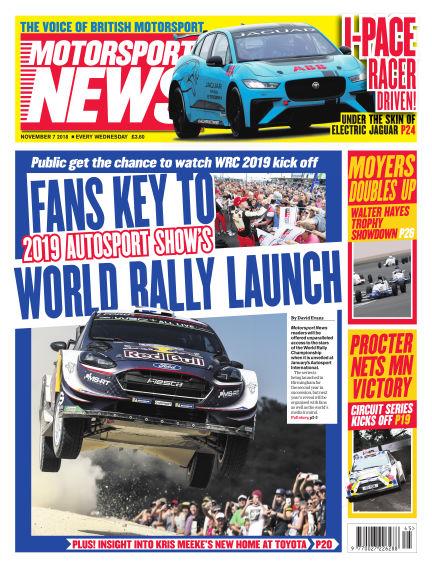 Motorsport News November 07, 2018 00:00