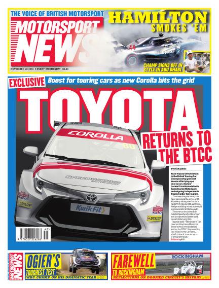 Motorsport News November 28, 2018 00:00