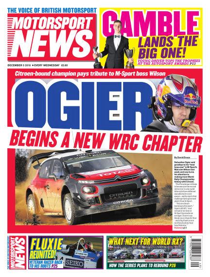 Motorsport News December 05, 2018 00:00