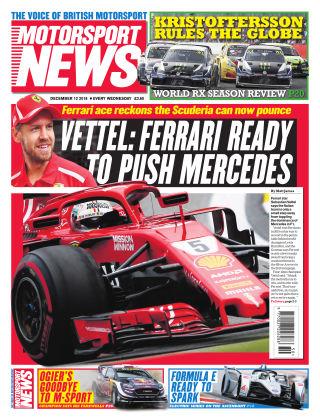 Motorsport News 12th December 2018