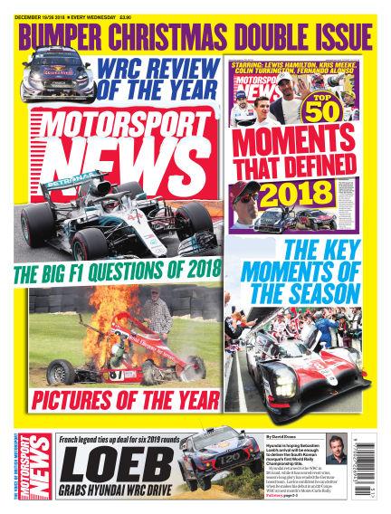 Motorsport News December 19, 2018 00:00