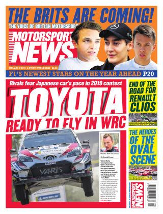 Motorsport News 2nd January 2019