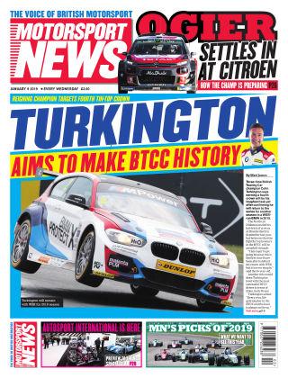 Motorsport News 9th January 2019