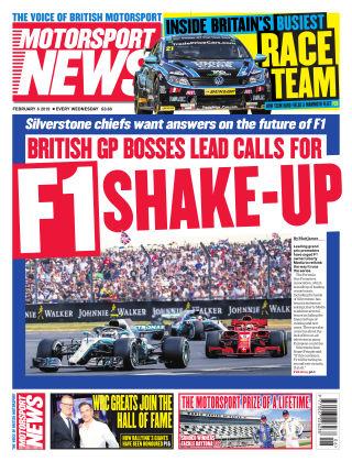 Motorsport News 6th February 2019