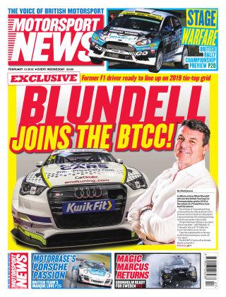 Motorsport News 13th February 2019