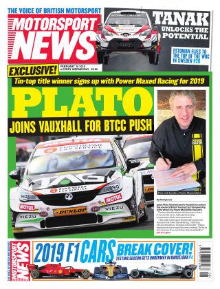 Motorsport News 20th February 2019