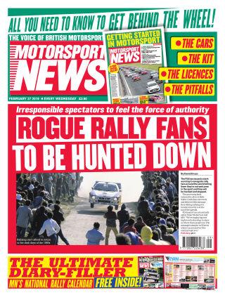Motorsport News 27th February 2019