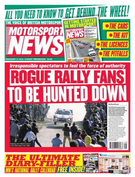 Motorsport News February 27, 2019 00:00