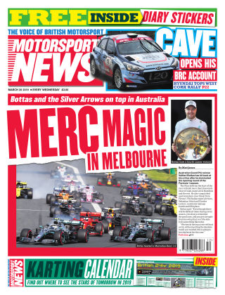 Motorsport News 20th March 2019