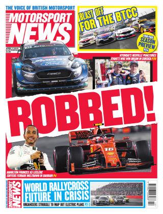 Motorsport News 3rd April 2019