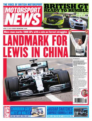 Motorsport News 17th April 2019