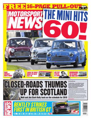Motorsport News 24th April 2019