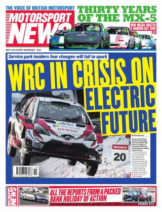 Motorsport News 8th May 2019