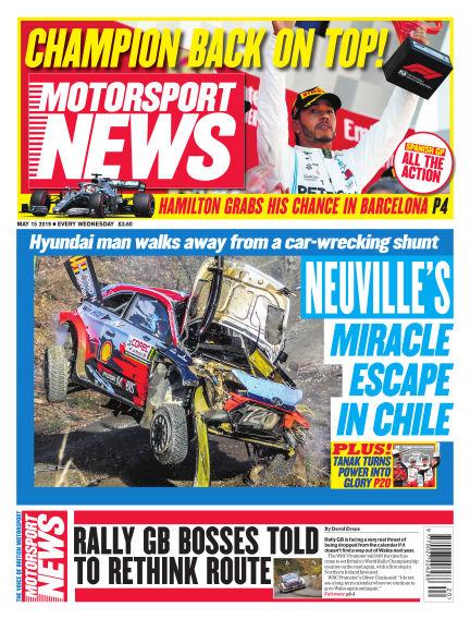 Motorsport News May 15, 2019 00:00