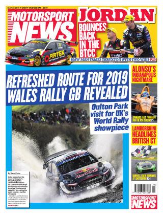 Motorsport News 22nd May 2019