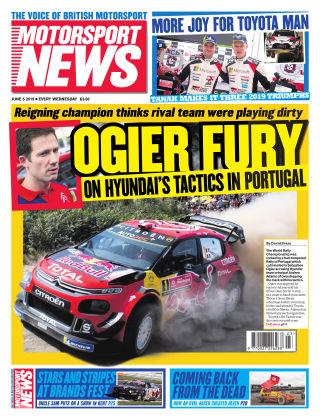 Motorsport News 5th June 2019