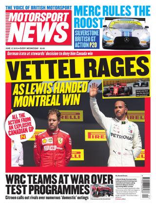 Motorsport News 12th June 2019