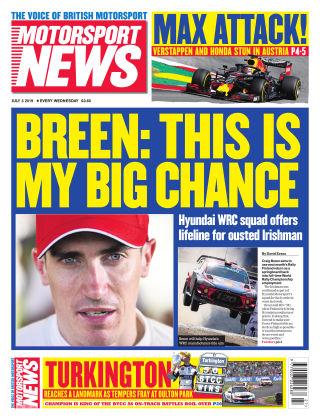 Motorsport News 3rd July 2019