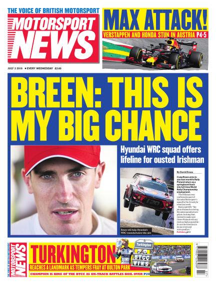 Motorsport News July 03, 2019 00:00