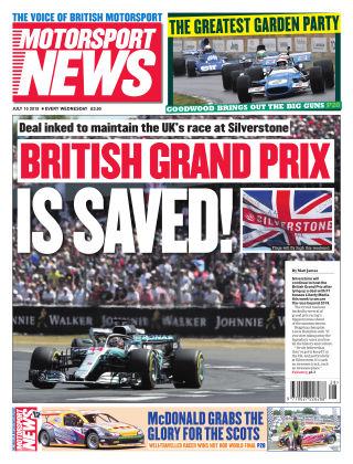 Motorsport News 10th July 2019