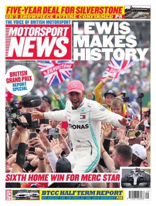 Motorsport News 17th July 2019