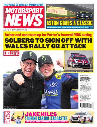 Motorsport News 24th July 2019