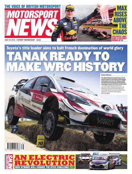 Motorsport News July 31, 2019 00:00