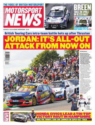 Motorsport News 21st August 2019