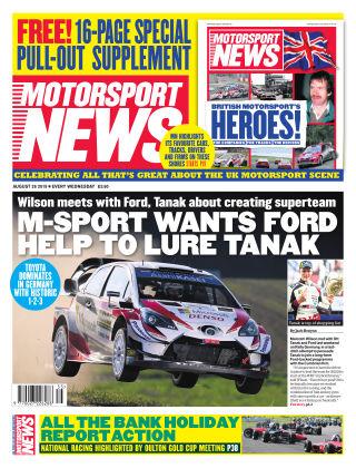 Motorsport News 28th August 2019