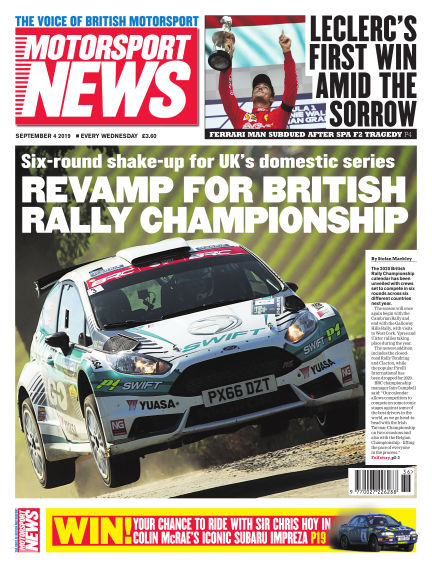 Motorsport News September 04, 2019 00:00