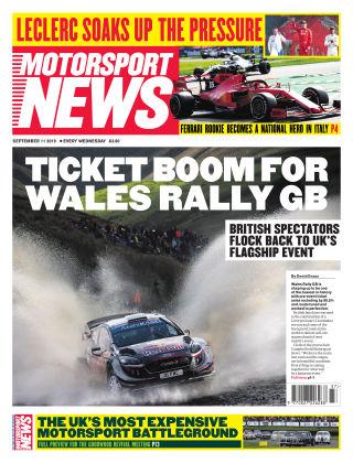 Motorsport News 11th September 2019