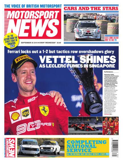 Motorsport News September 25, 2019 00:00