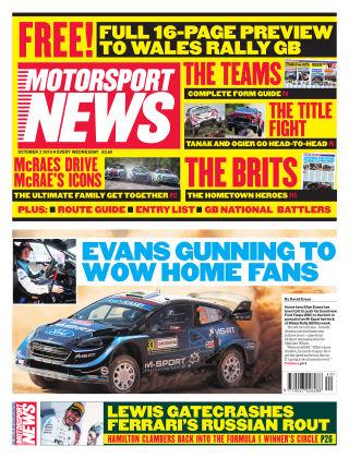 Motorsport News 2nd October 2019