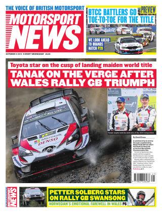Motorsport News 19th October 2019
