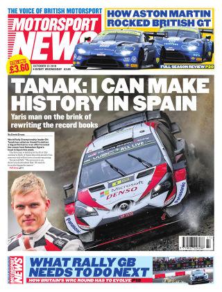 Motorsport News 23rd October 2019