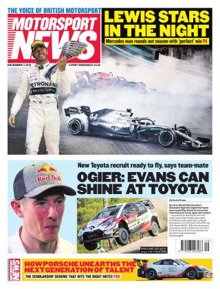 Motorsport News 4th December 2019