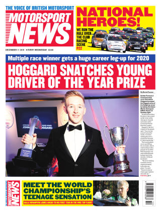 Motorsport News 11th December 2019