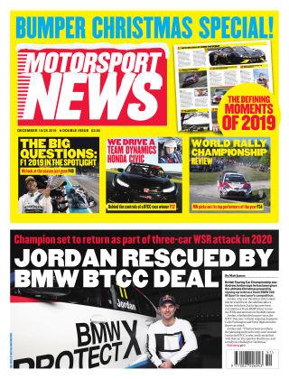 Motorsport News 18th December 2019