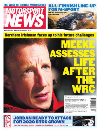 Motorsport News 8th January 2020