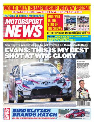 Motorsport News 22nd January 2020