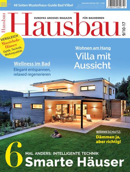 Hausbau August 19, 2017 00:00