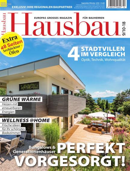 Hausbau August 11, 2018 00:00